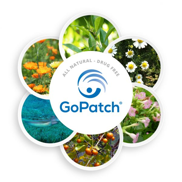 GoPatch Natural Ingredients for Vertigo