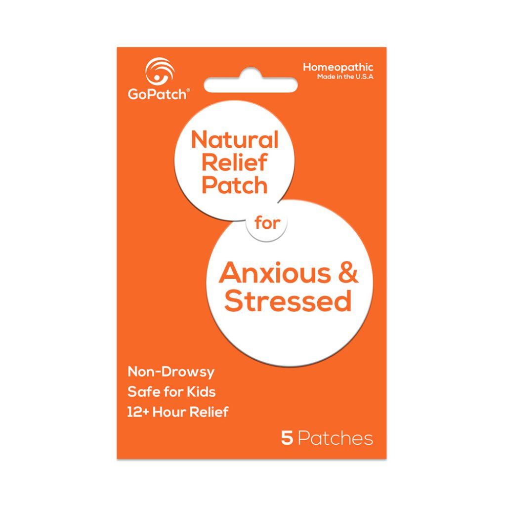 GoPatch for Anxious & Stressed symptoms