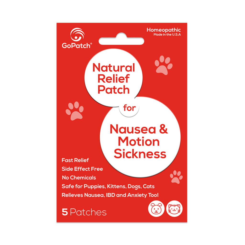 GoPatch for Nausea & Motion Sickness for Pets