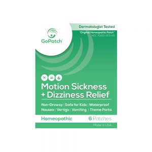 GoPatch Motion Sickness + Dizziness Relief