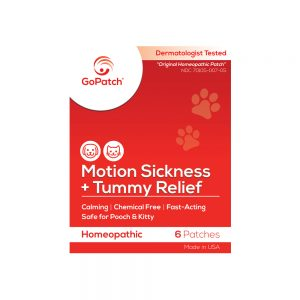 GoPatch Motion Sickness patch for pets